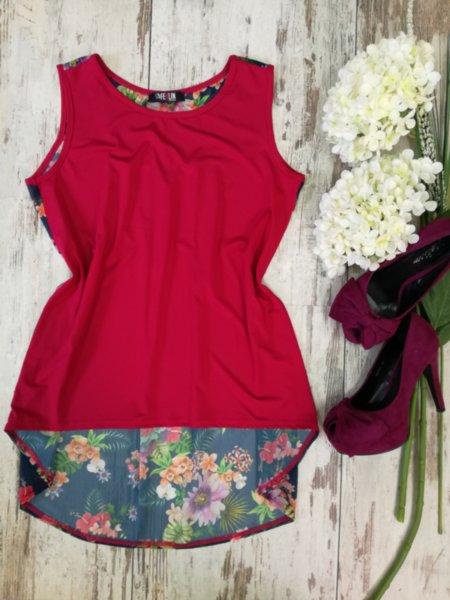 Дамска блуза Shame в червено